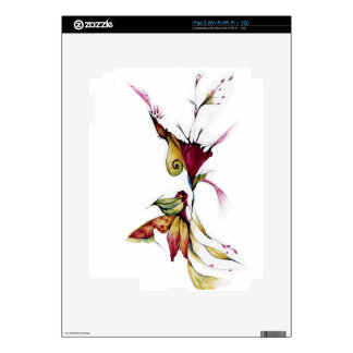 Flower of love decal for the iPad 2