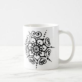 Flower Of Love (Henna) Coffee Mug