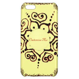 Flower Of Love (Henna) (Orange) iPhone 5C Cases