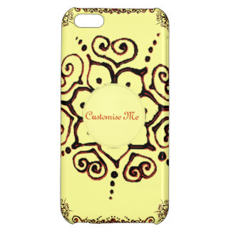 Flower Of Love (Henna) (Orange) iPhone 5C Cover