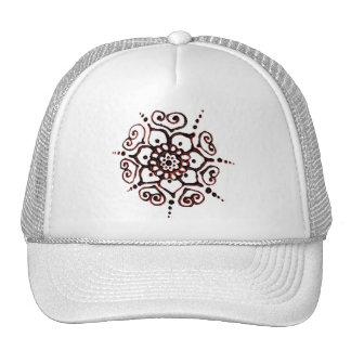 Flower Of Love (Henna) (Orange) Trucker Hat