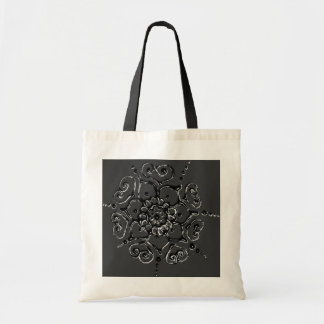 Flower Of Love (Henna) (Silver/effect) Tote Bags