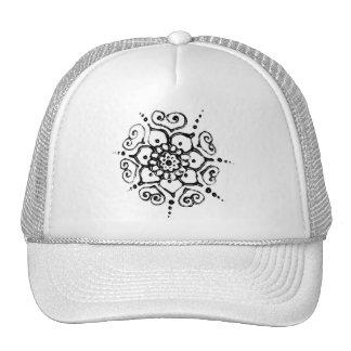 Flower Of Love (Henna) (Silver/effect) Trucker Hat
