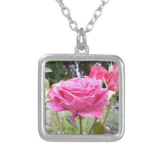 Flower of Love Rose Personalized Necklace