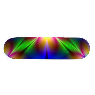 Flower of Neon Power Cool Bro/Guy/Little Brother Skateboard Deck