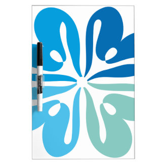 Flower of Peace and Joy Dry-Erase Board