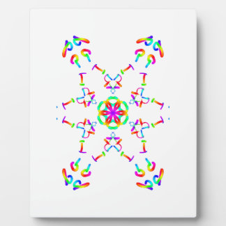 Flower of Pride Display Plaques