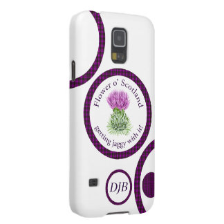 Flower of Scotland - getting jaggy with it! Galaxy S5 Case
