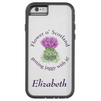 Flower of Scotland - getting jaggy with it! Tough Xtreme iPhone 6 Case