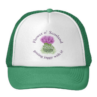 Flower of Scotland - getting jaggy with it! Trucker Hat