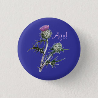Flower of Scotland Scottish Independence Pinback Pinback Button