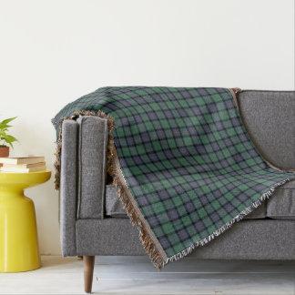 Flower of Scotland Tartan Throw Blanket