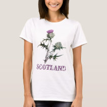 Flower of Scotland Thistle T-Shirt