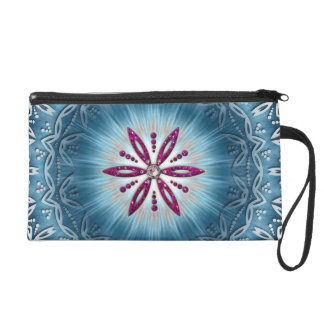 Flower of the life - Aphrodite amulet Wristlet Clutch