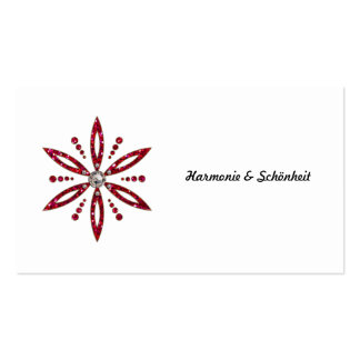 Flower of the life - Aphrodite amulet Business Cards