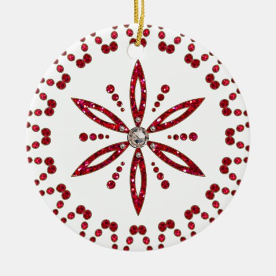 Flower of the life - Aphrodite amulet Ceramic Ornament