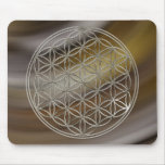 Flower of the life/Flower OF Life | more silver br Mousepad