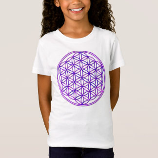 Flower of the life/Flower OF Life | pink blue T-Shirt