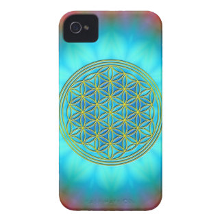 Flower of the life motive 11 Case-Mate iPhone 4 case