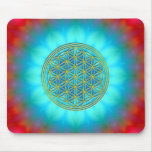 Flower of the life motive 11 mousepad