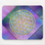 Flower of the life mouse pad