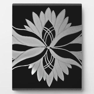 Flower of Victoria Plaque
