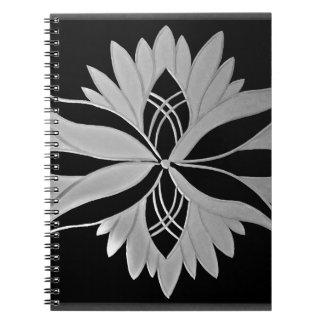 Flower of Victoria Spiral Notebook