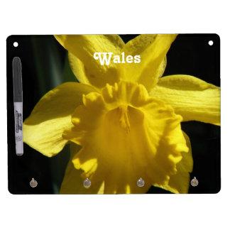 Flower of Wales Dry-Erase Whiteboard