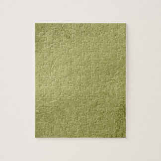 Flower on Stars n Pearls - Satin Silk Green Base Jigsaw Puzzle