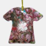 Flower on T-Shirt Ornament