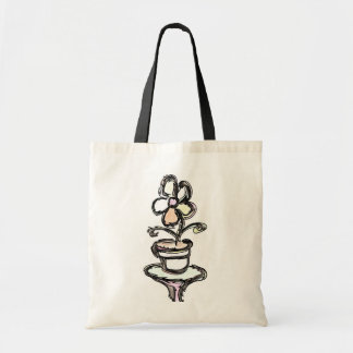 """Flower on Table""   From Stitchlips House series Tote Bags"