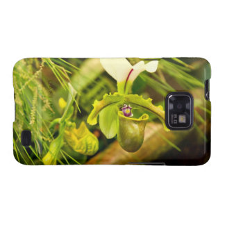 Flower - Orchid - Paphiopedilum insigne Samsung Galaxy SII Cover