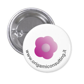 Flower - Origami Consulting Buttons