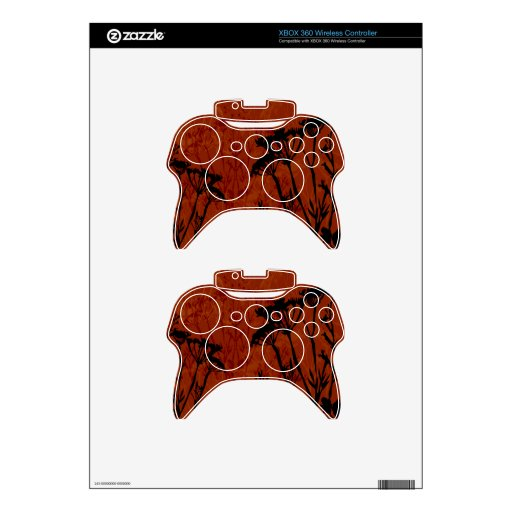 flower outline xbox 360 controller decal    Xbox 360 Controller Outline