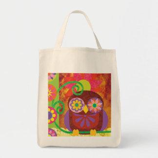 Flower Owl Bag