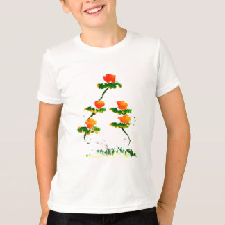 Flower painted by elephant T-Shirt