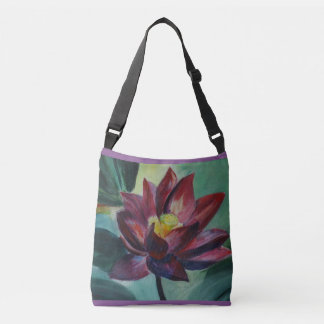 Flower Painting  All-Over-Print Cross Body Bag