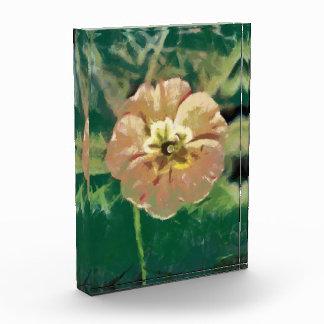 Flower painting acrylic award