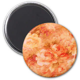 Flower Painting Magnet