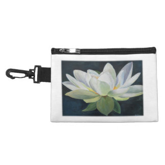 Flower Painting of White Lilies Accessories Bags