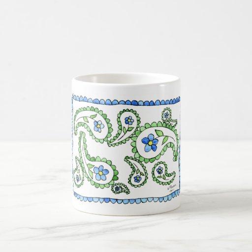 Flower Paisley Coffee Mug