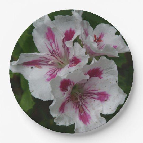 Flower Paper Plates. Paper Plate  sc 1 st  Zazzle & Flower Paper Plates. Paper Plate | Zazzle.com