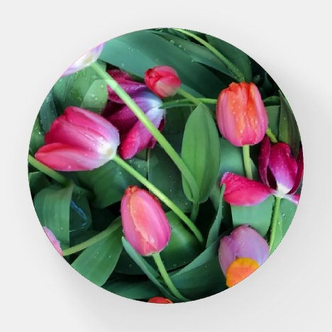 Flower paperweight