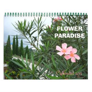 Flower Paradise Calendar