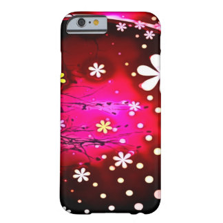 Flower Party Airbrush Art Barely There iPhone 6 Case