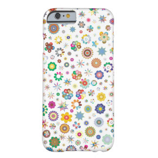 Flower Party iPhone 6/6s, Barely There Phone Case