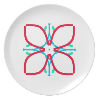 Flower Pary Plate
