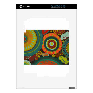 Flower Patch Decals For iPad 2