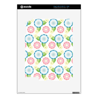Flower Patch Decals For The iPad 2