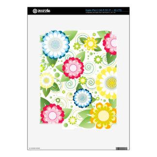 Flower Patch iPad 3 Skin